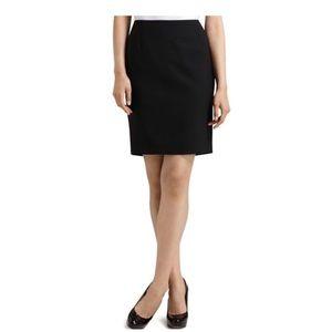 Elie Tahari Black Bennett Skirt